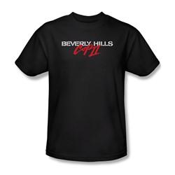 Beverly Hills Cop Ii - Mens Logo T-Shirt In Black