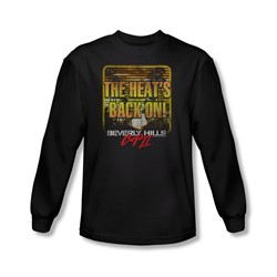 Beverly Hills Cop Iii - Mens The Heats Back On Long Sleeve Shirt In Black