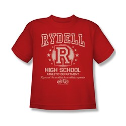 Grease - Big Boys Rydell High T-Shirt In Red