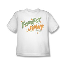 Forrest Gump - Big Boys Peas And Carrots T-Shirt In White