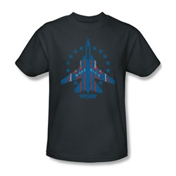 Top Gun - Mens Maverick T-Shirt In Charcoal