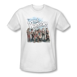 Warriors - Mens Amusement T-Shirt In White