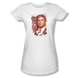 Dexter - Womens Splatter T-Shirt In White