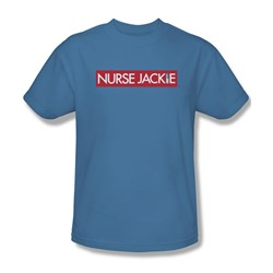 Nurse Jackie - Mens Logo T-Shirt In Carolina Blue