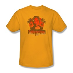 Californication - Mens Hank Retro T-Shirt In Gold