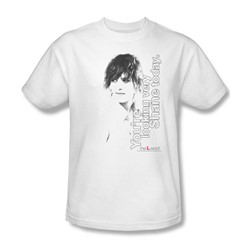The L Word - Mens Looking Shane Today T-Shirt In White