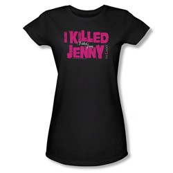 The L Word - Womens I Killed Jenny T-Shirt In Black