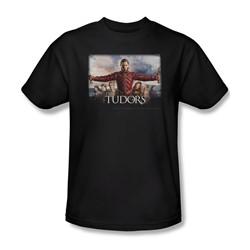 Tudors - Mens The Final Seduction T-Shirt In Black