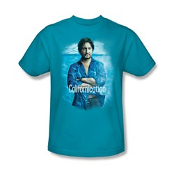 Californication - Mens Way Too Deep T-Shirt In Turquoise