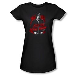 Dexter - Womens Dark Passenger T-Shirt In Black