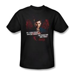Dexter - Mens Good Bad T-Shirt In Black