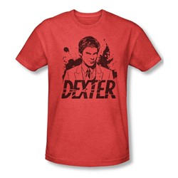 Dexter - Mens Splatter Dex T-Shirt In Red