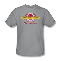 Star Trek - Mens Kobayashi Maru T-Shirt In Silver