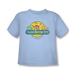 Land Before Time - Toddler Dino Breakout T-Shirt In Light Blue