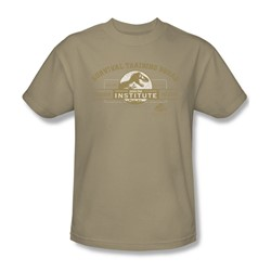 Jurassic Park - Mens Survival Training Squad T-Shirt In Sand