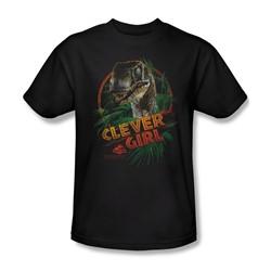 Jurassic Park - Mens Clever Girl T-Shirt In Black