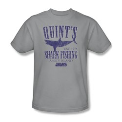 Jaws - Mens Quints T-Shirt In Silver