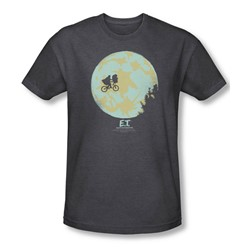 Et - Mens In The Moon T-Shirt In Charcoal