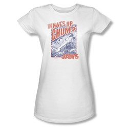 Jaws - Womens Chum T-Shirt In White