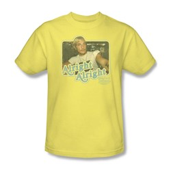 Dazed And Confused - Mens Alright Alright T-Shirt In Banana