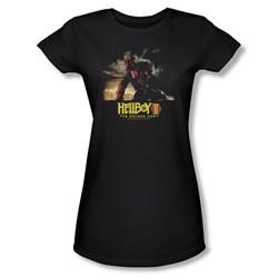 Hellboy Ii - Womens Poster Art T-Shirt In Black