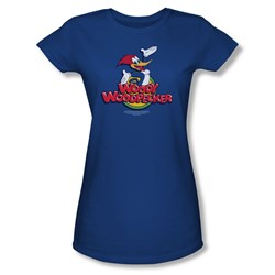 Woody Woodpecker - Womens Woody T-Shirt In Royal