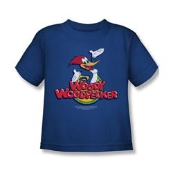Woody Woodpecker - Little Boys Woody T-Shirt In Royal