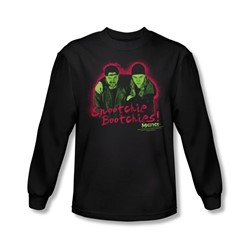 Mallrats - Mens Snootchie Bootchies Long Sleeve Shirt In Black