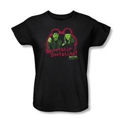 Mallrats - Womens Snootchie Bootchies T-Shirt In Black