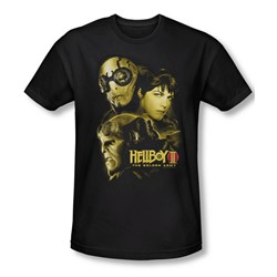Hellboy Ii - Mens Ungodly Creatures T-Shirt In Black