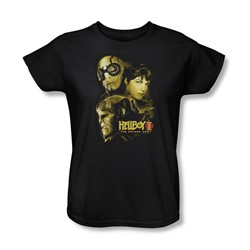 Hellboy Ii - Womens Ungodly Creatures T-Shirt In Black