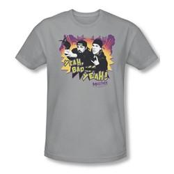 Mallrats - Mens Grappling Hook T-Shirt In Silver