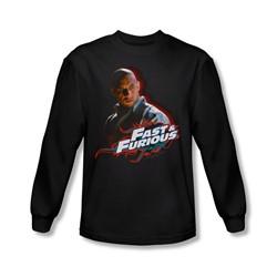 Fast & Furious - Mens Toretto Long Sleeve Shirt In Black