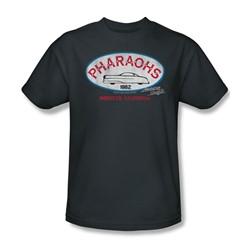 American Graffiti - Mens Pharaohs T-Shirt In Charcoal