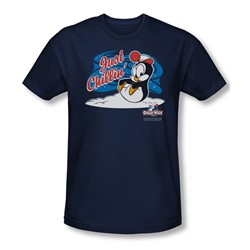Chilly Willy - Mens Just Chillin T-Shirt In Navy