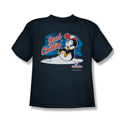 Chilly Willy - Big Boys Just Chillin T-Shirt In Navy