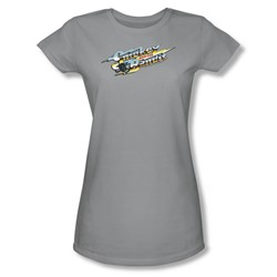 Smokey And The Bandit - Womens Logo T-Shirt In Silver