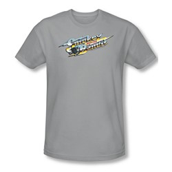 Smokey And The Bandit - Mens Logo T-Shirt In Silver