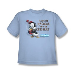 Chilly Willy - Big Boys Hands Off T-Shirt In Light Blue
