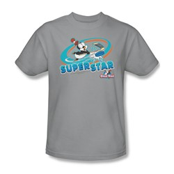 Chilly Willy - Mens Slap Shot T-Shirt In Silver