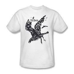 Birds - Mens Title T-Shirt In White