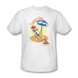 Woody Woodpecker - Mens Summertime T-Shirt In White
