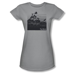 Birds - Womens Evil T-Shirt In Silver