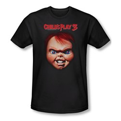 Childs Play 3 - Mens Chucky T-Shirt In Black
