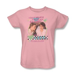 Sixteen Candles - Womens Panties T-Shirt In Pink