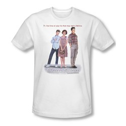 Sixteen Candles - Mens Poster T-Shirt In White