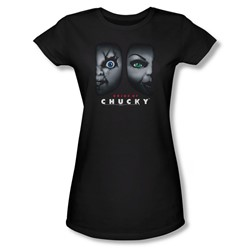 Bride Of Chucky - Womens Happy Couple T-Shirt In Black