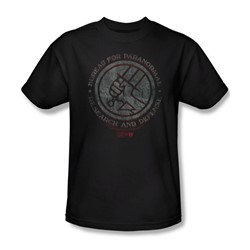 Hellboy Ii - Mens Bprd Stone T-Shirt In Black