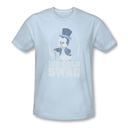 Chilly Willy - Mens Ice Cold T-Shirt In Light Blue