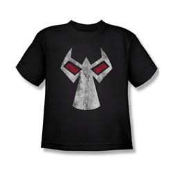Batman - Big Boys Bane Mask T-Shirt In Black
